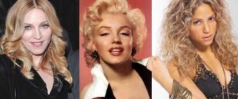 Shakira, Madonna y Marilyn Monroe serán la imagen de un shampoo