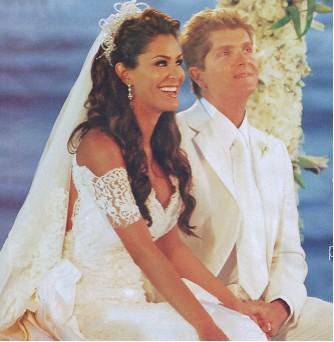 Ninel Conde  en boda