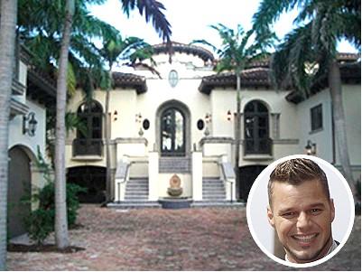 La nueva mansión de Ricky Martín