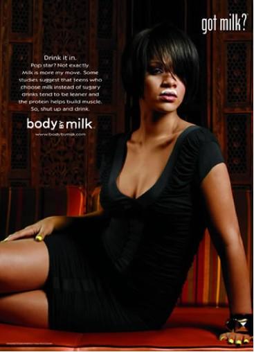Rihanna Milk