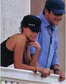 Alejandro Sanz acepta su noviazgo con Raquel Pareda su asistente
