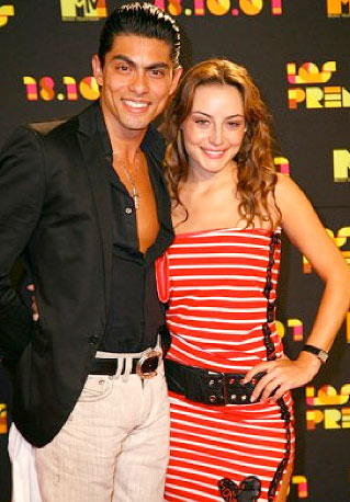 Marimar Vega  con Víctor García