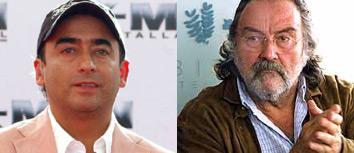 Adal Ramones y Pedro Armendariz