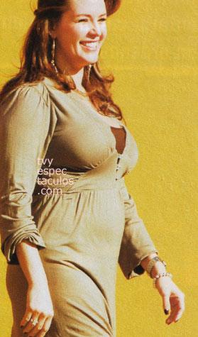 Alicia Machado  4 meses de embarazo