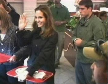 Angelina en Irak