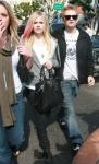 Avril Lavigne y Deryck Whibley