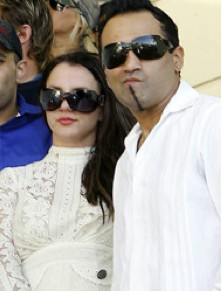 Britney Spears y Adnan paparazzi