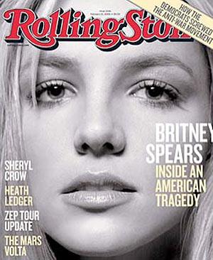 Britney Spears Rolling Stone magazine