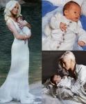 Christina Aguilera y su bebé Max
