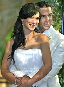 Ernesto D´Alessio y esposa