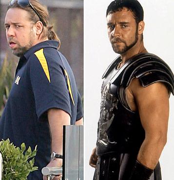 Russel Crowe gordo gladiador