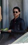 Jared Leto captado comiendo ensalada