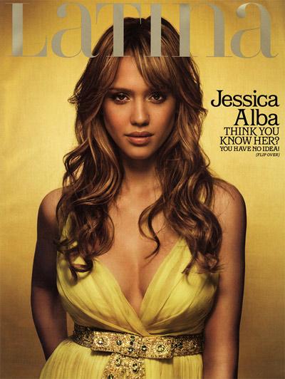 Jessica Alba Latina Magazine