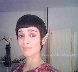 Julieta Venegas y su nuevo look elfo