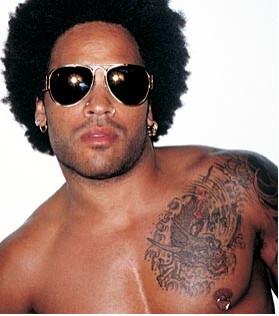Lenny Kravitz internado por bronquitis