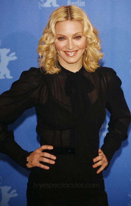 Madonna en Berlin debuta como directora