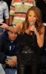 Mariah Carey promociona su nuevo disco y perfume