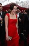 Miley Cyrus en la alfombra roja del Los oscar
