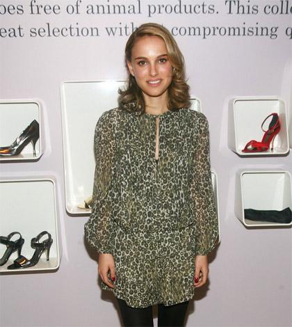 Natalie Portman nueva línea de zapatos