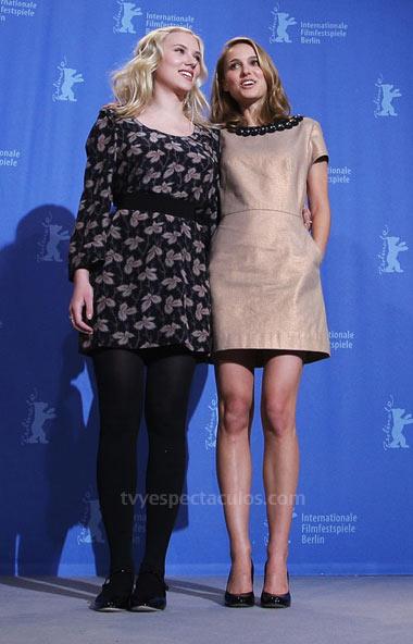 Natalie Portman y Sacrlett Johansson en la Berlinale