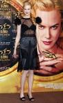 Nicole Kidman  con pancita de embarazada en Tokio