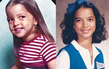 Adamari Lopez niña y adolescente