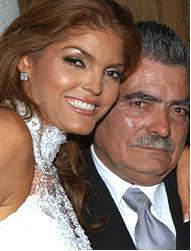 Ana Bárbara y Antero padre