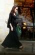Angelina Jolie con su pancita de embarazada