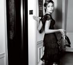 Angelina Jolie con un estilo muy clásico para una campaña