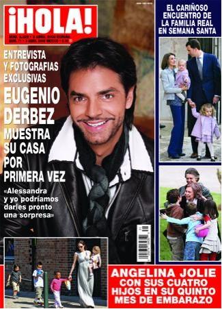 Eugenio Derbez en revista Hola de México