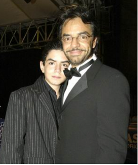 Eugenio Derbez e hijo