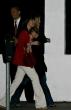 Jennifer Aniston en beso restaurante