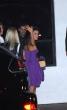 Eva Longoria saluda en beso restaurante