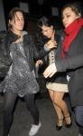 El auto de Lily Allen fue atacado por un paparazzo fotos