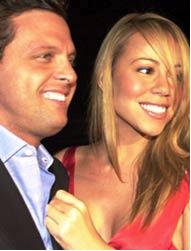 Luis Miguel y Mariah Carey foto
