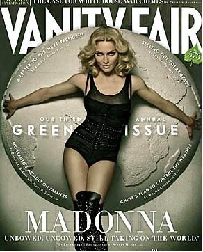 Madonna en revista Vanity Fair  portada