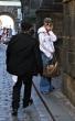 Paris Hilton y novio en calle