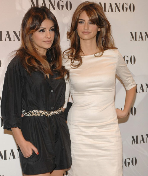 Penelope y Monica Cruz