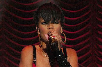 Rihanna debuta en Dublín de lo más sexy