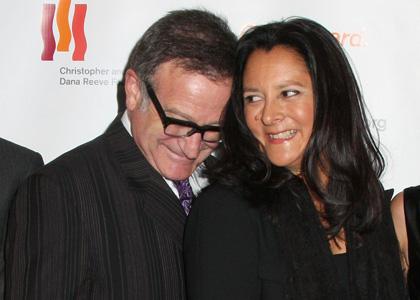 Robin Williams y ex esposa