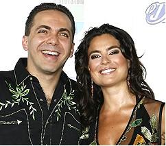 Cristian Castro y Valeria Liberman