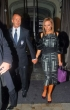 David y Victoria Beckham elegantes
