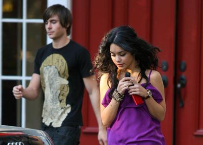 Zac Efron y Vanessa Hudgens