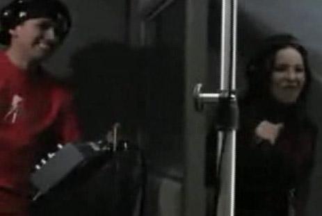 Belinda y Nigga cantando