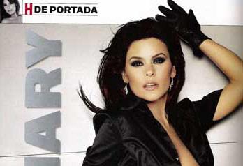 Mary Boquitas en Revista H