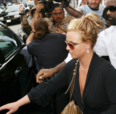 Britney Spears paparazzis