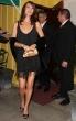 Sarah Larson sexy elegante vestido negro