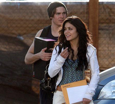 Zac y Vanessa en High School Musical 3