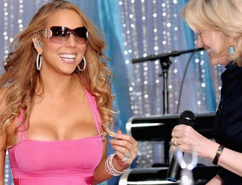 Mariah Carey escote