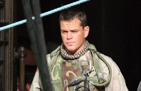 Matt Damon soldado cargo